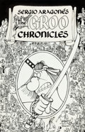 Original Comic Art:Covers, Sergio Aragonés The Groo Chronicles Book 1 Cover (Epic/Marvel, 1989).... (Total: 2 Items)
