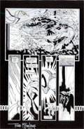 Original Comic Art:Panel Pages, Todd McFarlane Spider-Man #2 Page 10 Original Art (Marvel,1990)....