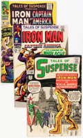 Silver Age (1956-1969):Superhero, Tales of Suspense Group (Marvel, 1963-68) Condition: Average VG-.... (Total: 19 Comic Books)
