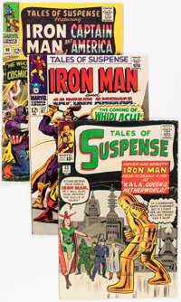 Tales of Suspense Group (Marvel, 1963-68) Condition: Average VG-.... (Total: 19 Comic Books)