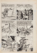 """Original Comic Art:Panel Pages, Jack Kirby Boys' Ranch #2 """"The Clay Duncan Story"""" Page 4 Original Art (Harvey, 1950)...."""