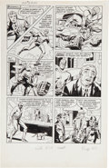 """Original Comic Art:Panel Pages, Joe Simon and Jack Kirby The Fly #2 """"Marco's Eyes"""" Page 5Original Art (Archie, 1959).. ..."""