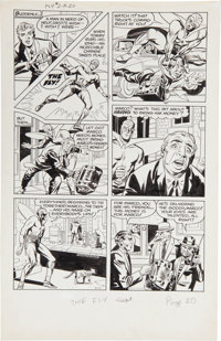 "Joe Simon and Jack Kirby The Fly #2 ""Marco's Eyes"" Page 5 Original Art (Archie, 1959)"
