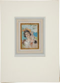 Original Comic Art:Miscellaneous, Rolf Armstrong Woman with Wine Preliminary Original Art(undated)....