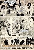 Original Comic Art:Panel Pages, John Byrne and Terry Austin X-Men #108 Page 31 Original Art(Marvel, 1977)....