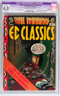 Golden Age (1938-1955):Horror, Three Dimensional EC Classics #1 Trimmed (EC, 1954) CGC Apparent VG4.0 Slight (A) Cream to off-white pages....