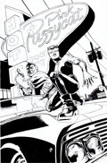Original Comic Art:Covers, J. G. Jones Catwoman #14 Cover Original Art (DC, 2003)...