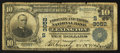 National Bank Notes:Kentucky, Lexington, KY - $10 1902 Plain Back Fr. 627 The Phoenix & ThirdNB Ch. # (S)3052. ...