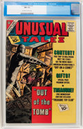 Silver Age (1956-1969):Horror, Unusual Tales #32 (Charlton, 1962) CGC NM 9.4 Off-white to whitepages....