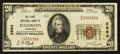 National Bank Notes:Nebraska, Fullerton, NE - $20 1929 Ty. 1 The First NB Ch. # 2964. ...