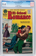Silver Age (1956-1969):Romance, Hi-School Romance #74 File Copy (Harvey, 1958) CGC NM 9.4 Cream tooff-white pages....