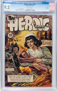 Heroic Comics #44 File Copy (Eastern Color, 1947) CGC NM- 9.2 Off-white pages