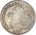 Early Half Dollars, 1797 50C VG8 PCGS. O-101a, High R.4....