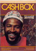Music Memorabilia:Posters, Marvin Gaye Cashbox Cover Art (1976)....