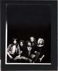 Music Memorabilia:Posters, Aerosmith Cashbox Ad Art for Get Your Wings(1974)....