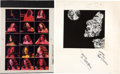 Music Memorabilia:Photos, Carole King - Cashbox Four-Color Separation Ad Art and CoverMock-up (1971).... (Total: 2 Items)