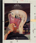 Music Memorabilia:Posters, Jerry Garcia - Cashbox Four-Color Ad Art forReflections (1976)....