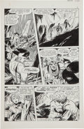 Original Comic Art:Panel Pages, Jim Aparo The Phantom #34 Original Art Group (Charlton, 1969).... (Total: 8 Original Art)