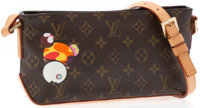 Louis Vuitton Limited Edition Takashi Murakami Monogram Canvas Shoulder Bag