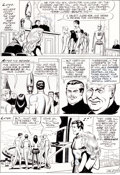 Original Comic Art:Panel Pages, Russ Manning and Mike Royer Magnus, Robot Fighter #19 Page21 Original Art (Gold Key, 1966)....
