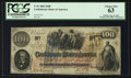 Confederate Notes:1862 Issues, T41 $100 1862 PF-4 Cr. 314.. ...