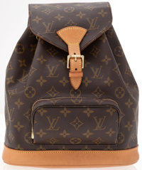 Louis Vuitton Classic Monogram Canvas Montsouris GM Backpack Bag