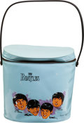 Music Memorabilia:Memorabilia, Beatles Vinyl Lunch Box (NEMS Enterprises Ltd. Inc., 1965)....(Total: 2 Items)