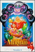 """Movie Posters:Animation, The Little Mermaid (Buena Vista, R-1997). One Sheet (27"""" X 40"""") DS Advance. Animation.. ..."""