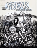 Original Comic Art:Covers, Gilbert Shelton The Fabulous Furry Freak Brothers in GrassRoots Deluxe Edition Cover Original Art (Knockabout, 19...