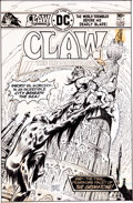 Original Comic Art:Covers, Ernie Chan Claw the Unconquered #7 Cover Original Art (DC,1976)....