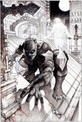 Original Comic Art:Covers, Simone Bianchi Black Panther: The Man Without Fear #513 Cover Original Art (Marvel, 2011)....