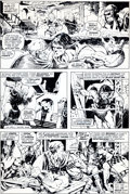 Original Comic Art:Panel Pages, Mike Ploog Conan the Barbarian #57 page 22 Original Art(Marvel, 1975)....