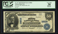 National Bank Notes:Kentucky, Hopkinsville, KY - $50 1902 Plain Back Fr. 677 The First NB Ch. #3856. ...