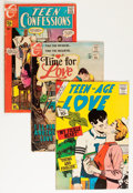 Silver Age (1956-1969):Romance, Comic Books - Assorted Silver Age Romance Comics Group (VariousPublishers, 1960s) Condition: Average GD/VG....