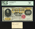Large Size:Gold Certificates, Fr. 1225h $10000 1900 Gold Certificate PCGS About New 50.. ...
