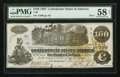 Confederate Notes:1862 Issues, T39 $100 1862 PF-4 Cr. 289.. ...