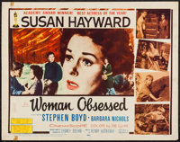 """Woman Obsessed & Others Lot (20th Century Fox, 1959). Half Sheets (5) (22"""" X 28""""). Romance. ... (Total..."""