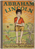 Books:Children's Books, [Children's]. Ingri and Edgar Parin d'Aulaire. AbrahamLincoln. New York: Doubleday, 1939. First edition, firs...