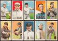 Baseball Cards:Lots, 1909-11 T206 White Border Tobacco Group of (10) With HoFers! ...