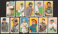 Baseball Cards:Lots, 1909-11 T206 White Border Tobacco Group of (11) With HoFers! ...