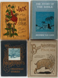 Books:Children's Books, [Children's Illustrated]. Group of Four Illustrated Children'sBooks. Various publishers. ca. 1920's. Includes The Story L...(Total: 4 Items)