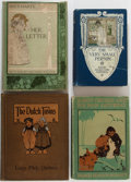 Books:Children's Books, [Children's]. Group of Four Illustrated Chapter Books. Variouspublishers, ca. 1900. Includes works by Frances Hodgson Bur...(Total: 4 Items)