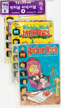 Bronze Age (1970-1979):Humor, Richie Rich Bagged Sets File Copies Box Lot (Harvey, 1972-75) Condition: Average VF/NM....