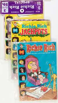 Richie Rich Bagged Sets File Copies Box Lot (Harvey, 1972-75) Condition: Average VF/NM