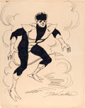 Original Comic Art:Sketches, Dave Cockrum Nightcrawler Sketch Original Art (undated)....