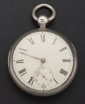 Timepieces:Pocket (pre 1900) , John Johnson Liverpool Lever Fusee Pocket Watch. ...