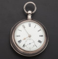 Timepieces:Pocket (pre 1900) , J. Duncan Brechin Lever Fusee. ...