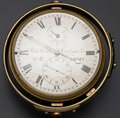 Timepieces:Pocket (pre 1900) , Richard Hornby Liverpool Two Day U.S. Army Detent Chronometer. ...