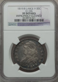 Bust Half Dollars, 1819/8 50C Large 9 -- Improperly Cleaned -- NGC. Details. XF.O-106. NGC Census: (23/237). PCGS Population (29/142). Numi...