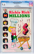 Bronze Age (1970-1979):Cartoon Character, Richie Rich Millions #49 File Copy (Harvey, 1971) CGC NM+ 9.6 Whitepages....